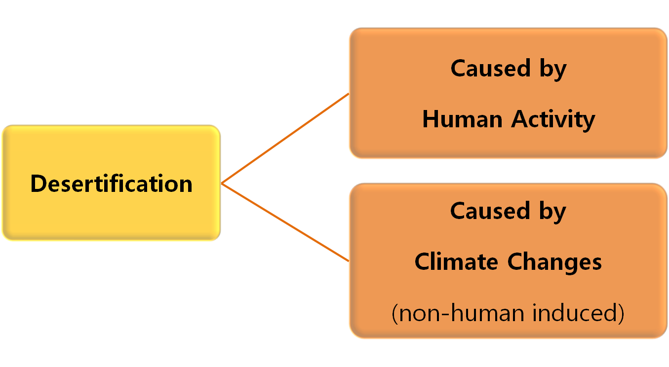 what is the main cause of desertification